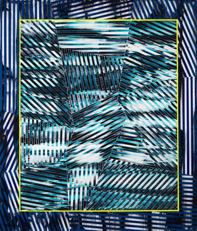Elyce Abrams, 'Blue Framed', 2018