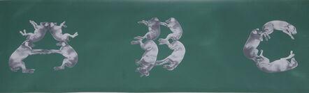William Wegman, 'A,B,C...Z', 1993