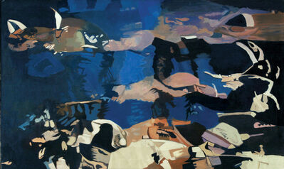 Ralph Wickiser, 'White Rock', 1996