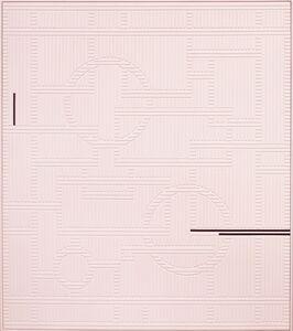 Arantxa Etcheverria, 'Pink geometric pattern', 2017