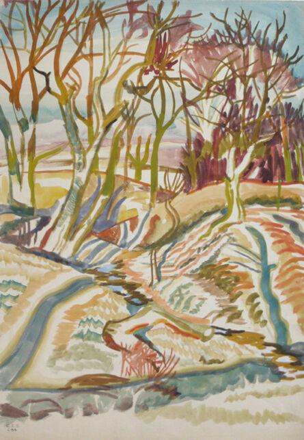 Charles Ephraim Burchfield, 'Autumn Sunlight', ca. 1917
