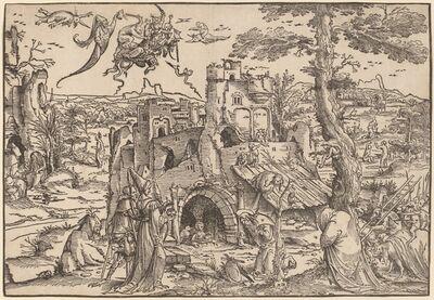 Jan Wellens de Cock, 'The Temptation of Saint Anthony', 1522