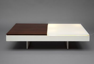 Joseph-André Motte, 'Pair of illuminated low tables', 1959