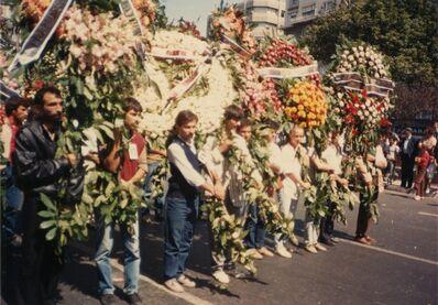 'Didar Şensoy funeral', September 5-1987