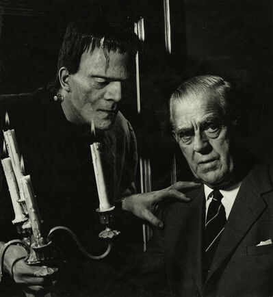 Ormond Gigli, 'Boris Karloff, New York', 1963