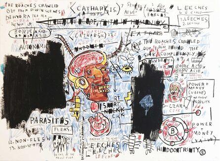 Jean-Michel Basquiat, 'Leeches', 1982-83/2017