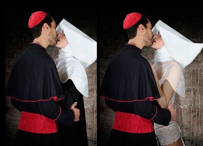 Cecile Plaisance, 'Cardinal et nonne', 2018