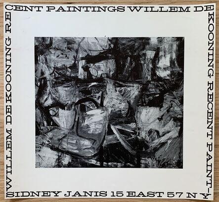Willem de Kooning, 'Original Sidney Janis Gallery Exhibition Poster', 1956