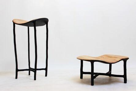 Valentin Loellmann, 'Pedestal tables', 2014