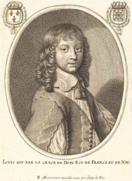 Balthasar Moncornet, 'Louis XIV'