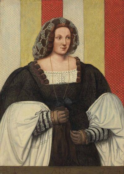 Bernardino de' Conti, 'Portrait a lady from the Trivulzio family, three-quarter-length'