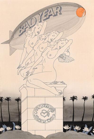 Masami Teraoka, 'Marilyn Monroe/Bad Year', 1973