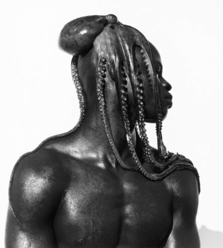 Herb Ritts, 'Djimon with Octopus', 1984