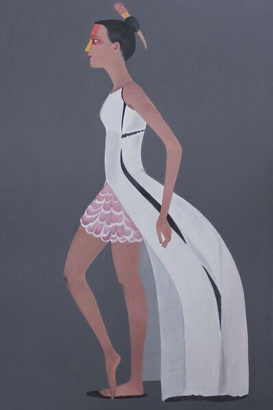 Surendran Nair, 'Painted Stork', 2017