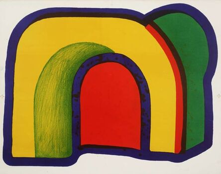 Howard Hodgkin, 'Composition with Red', 1970