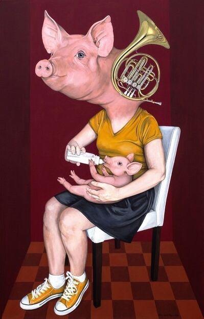 Atilla Galip Pinar, 'Domuz', 2014