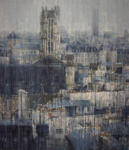Chizuru Morii Kaplan, 'Parisian Rooftops ', 2018