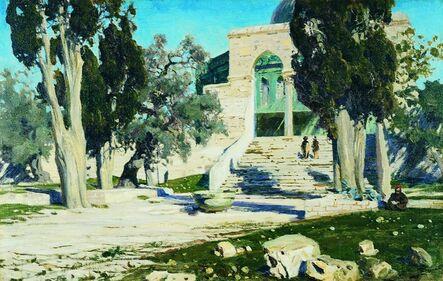 Vassily Dmitrievich Polenov, 'Omar Mosque', 1881