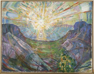 Edvard Munch, 'The Sun', 1910-1913
