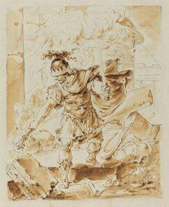 Bernhard Rode, 'Alexander Setting Fire to Persepolis'