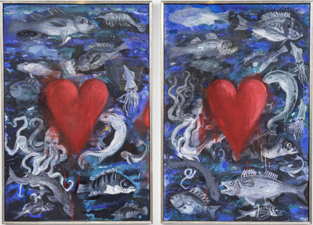 Jim Dine, 'Tomatoes Under the Water', 1990-1993