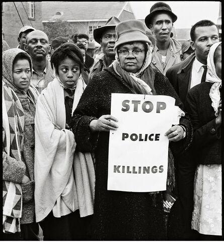 Steve Schapiro, 'Stop Police Killings, Selma', 1965