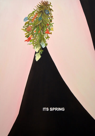 Laure Prouvost, 'The Hidden Paintings Grandma Improved - It's Spring', 2020