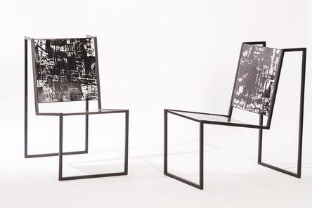 Pedro Barrail, 'Chiaroscuro Chair'