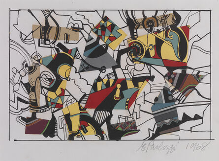 Eduardo Paolozzi, 'Untitled - Collage II', 1968