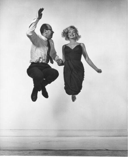 Philippe Halsman, 'Marilyn Monroe and Philippe Halsman', 1959