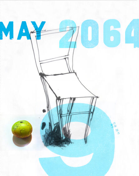 Martin Walde, 'May 9th 2064/X (Stuhl)', 2017