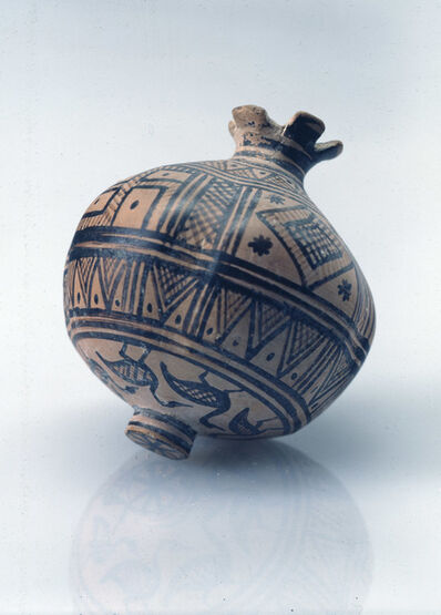 Unknown Artist, 'Geometric Vase in the Form of a Pomegranate'