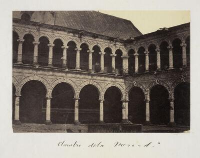 Claude Joseph Désiré Charnay, 'Claustro de la Merced', 1858
