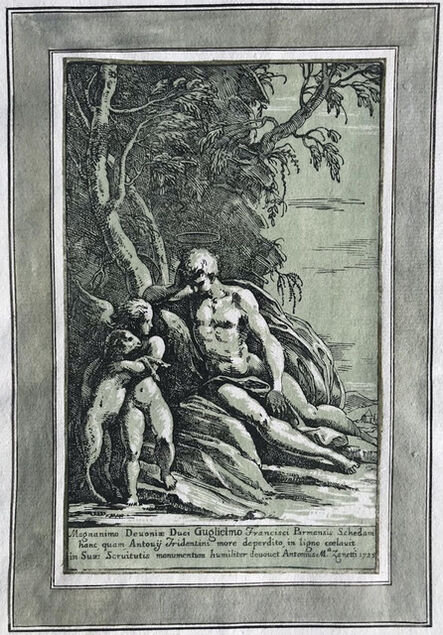 Antonio Maria Zanetti I, 'St John the Baptist in the Desert', 1725