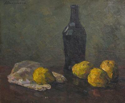 Aleksandr Timofeevich Danilichev, 'Still Life with black bottle', 1962