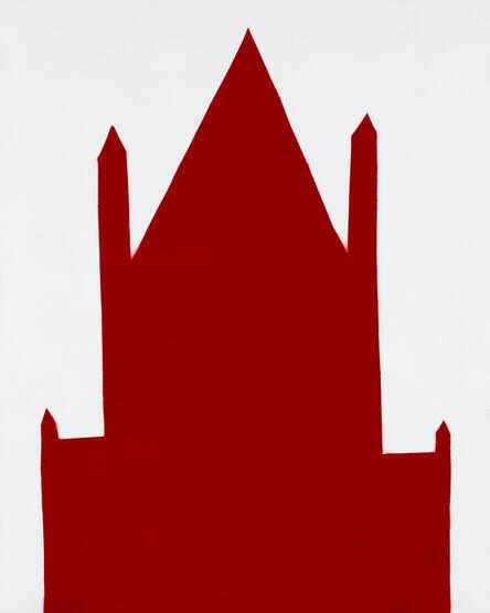 William Carroll, 'RED 59', 2018