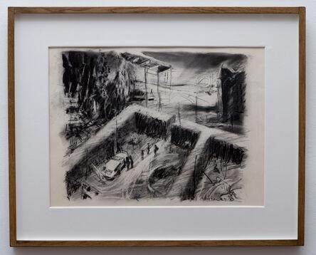 William Kentridge, 'The Building Site', 1987