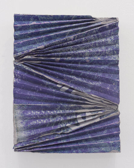 Letha Wilson, 'Kauai Concrete Ripple (Hands)', 2015