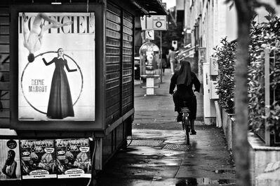 Riccardo Wolfgang, 'Nun on a bicycle, Milan ', 2012