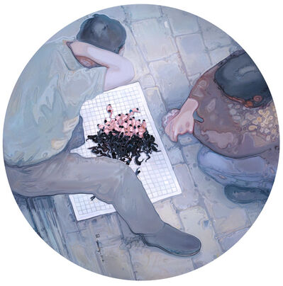 Zhou Jinhua 周金华, '局-白', 2014