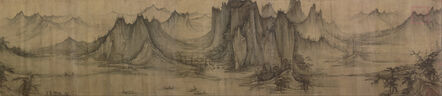 Xu Daoning, 'Section of Fishing in a Mountain Stream, Northern Song dynasty', Mid-11th century