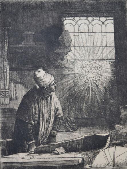 Rembrandt van Rijn, 'Faust  ', Etched c. 1652-Printed in 1906