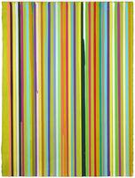 Ian Davenport, 'Lime Study II', 2010