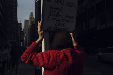 Christopher Anderson, 'Women's March in Midtown the day after Donald Trump was inaugurated as President. New York City, USA. ', 2017