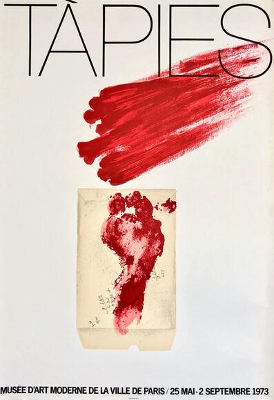Antoni Tàpies, 'Antoni Tàpies Musée d'Art Moderne 1973 poster', 1973