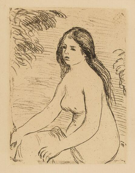Pierre-Auguste Renoir, 'Femme nue assise (Delteil, Stella 12)', c.1906