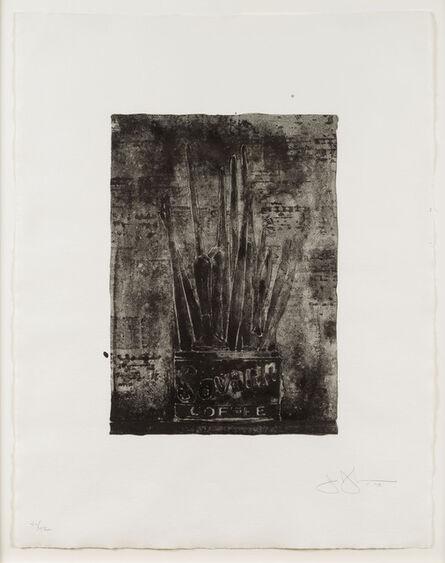 Jasper Johns, 'Savarin (Cookie)', 1978