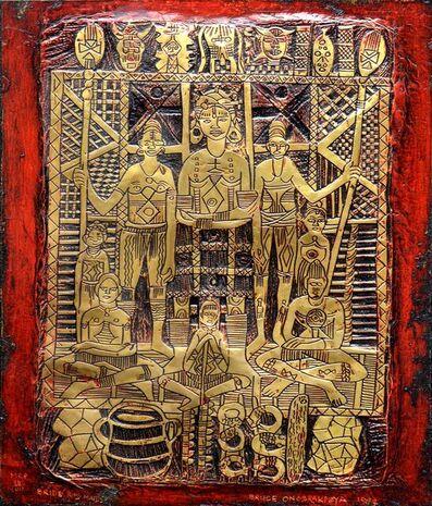 Bruce Onobrakpeya, 'Opha ve Ikopha', 1984