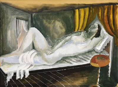 Ossip Zadkine, 'Reclining Nude', 1927