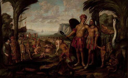 Stephan Kessler, 'America', second half of the 17th century